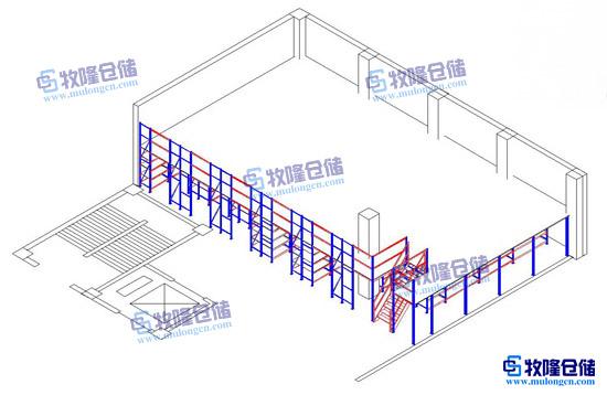 仓库阁楼效果设计图,热博rb88网址专业设计