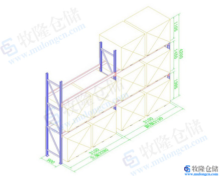 重型货架设计图