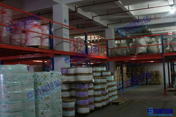 子工厂材料仓库货架东莞石排品牌阁楼平台货架图片