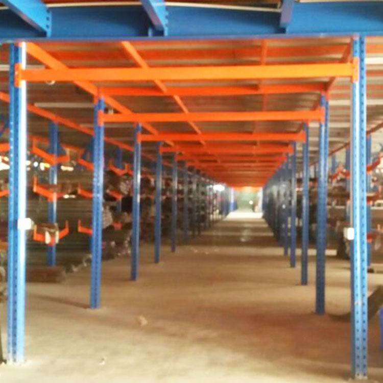 中型阁楼货架楼面材质 牧隆货架厂